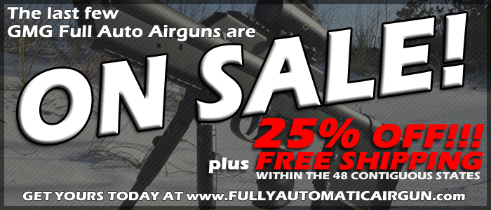 GMG Airguns are ON SALE